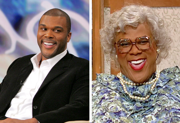 Tyler Perry on The Oprah Show on January 27, 2006