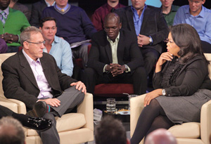 Dr. Howard Fradkin and Oprah