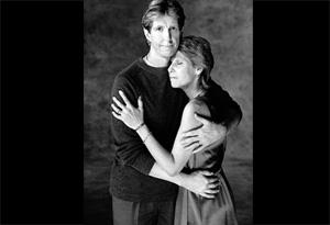 Ilene Lieberman-St. John and husband
