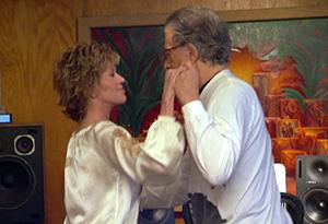 Jane Fonda dancing with boyfriend Richard Perry