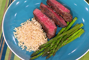 Simple Steak Dinner