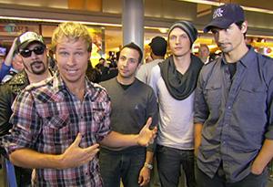 Backstreet Boys at O'Hare