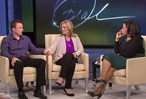 Chris and Lori Coble talk to Oprah.