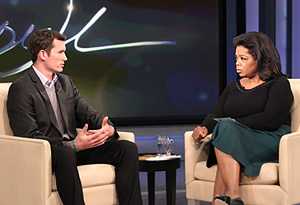 Colin Goddard and Oprah