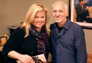 Peter Frampton and Sheri Salata