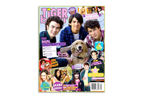 July 2009 Tiger Beat cover