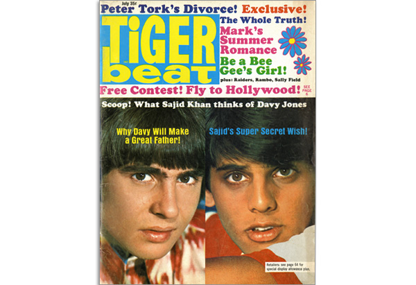 July 1968 Tiger Beat cover