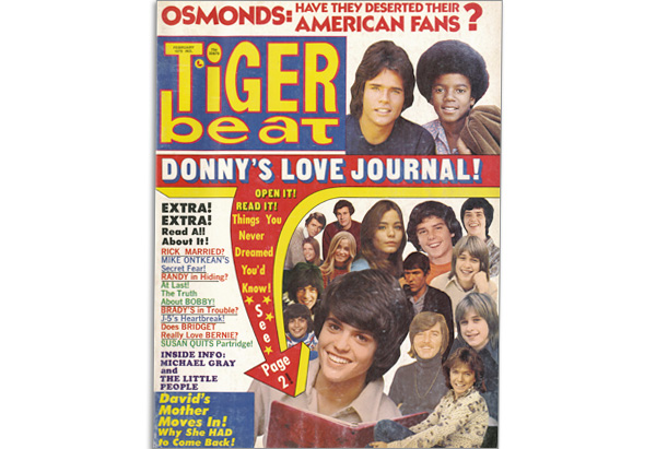 February 1973 Tiger Beat cover
