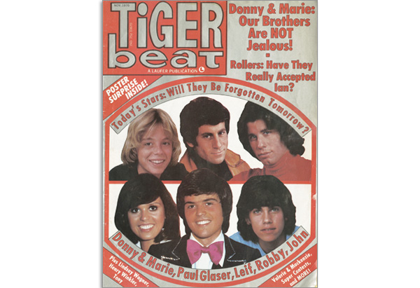 November 1976 Tiger Beat cover