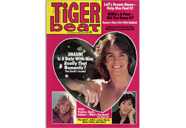 August 1978 Tiger Beat cover