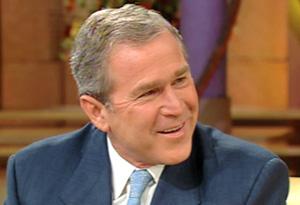Then-Gov. George W. Bush, Laura, Barbara and Jenna