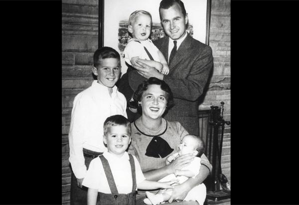 President George W. Bush, Barbara Bush, George Bush, Neil Bush, Jeb Bush, Marvin Bush