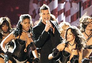 Ricky Martin onstage