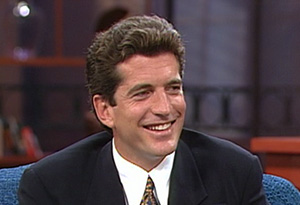 John F. Kennedy Jr. in 1996
