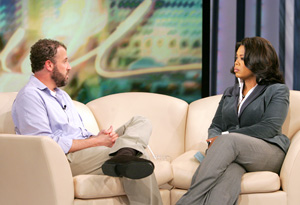 James Frey and Oprah in 2006