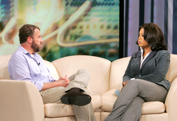 James Frey and Oprah