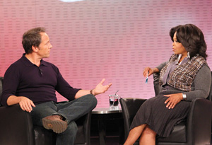 Mike Rowe and Oprah