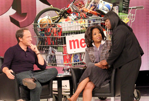 Mike Rowe, Oprah and Denise