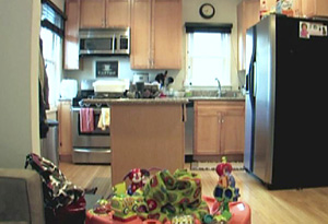 Mindy and Billy's kitchen before