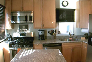 Mindy and Billy's kitchen after