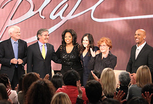 Phil, Geraldo, Oprah, Ricki, Sally and Montel
