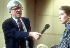 Phil Donahue on his show