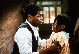 Danny Glover and Whoopi Goldberg