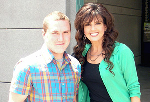 Marie Osmond with her son Michael