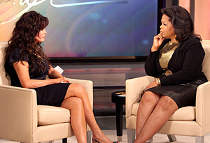 Marie Osmond and Oprah