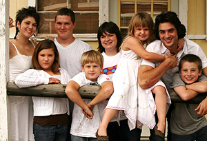 Marie Osmond's eight children