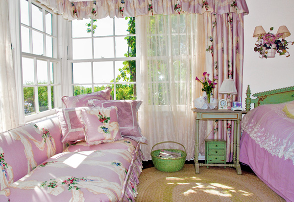 Big House Inside Bedroom inside barbra streisand's dream home