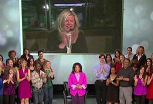 Oprah salutes Sheri Salata