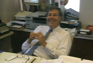 Oprah's first boss, Dennis Swanson