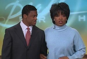 Warrick Dunn and Oprah
