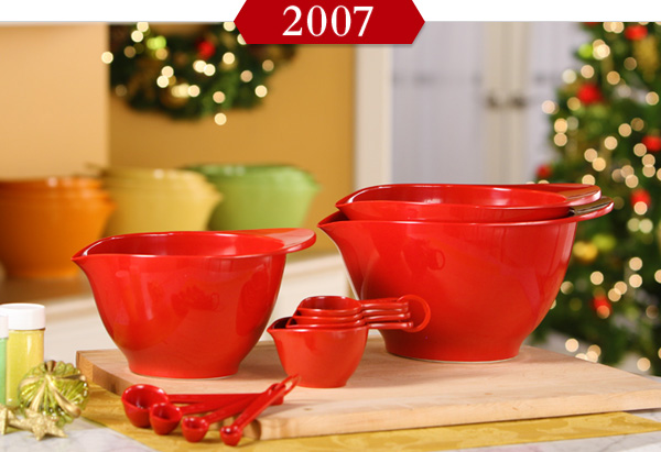 Melamine Bowls, Measuring Cups and Spoons from Williams-Sonoma