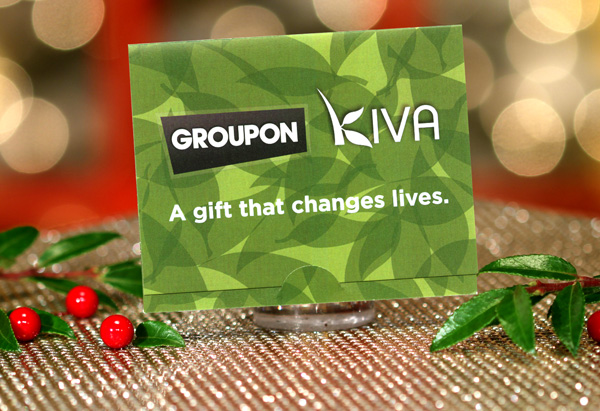Kiva.org Gift Card, Courtesy of Groupon