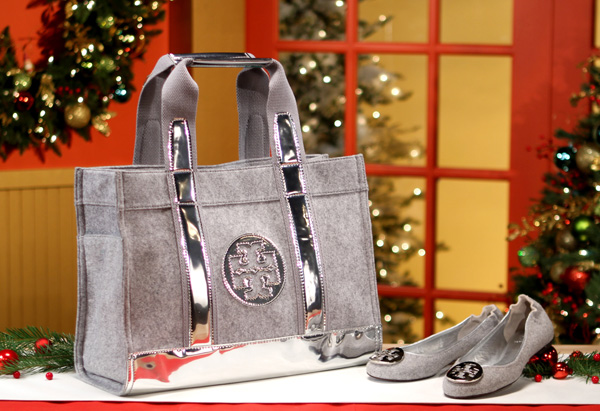 Tory Tote and Reva Ballerina Flat by Tory Burch