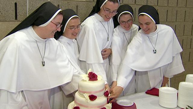 Nuns Celebrate Their Marriage To Jesus Video