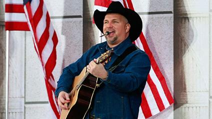 Garth Brooks at President Barack Obama's inauguration