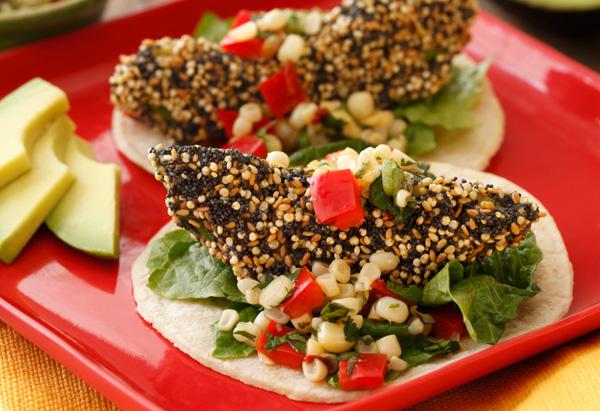 Crispy California Avocado Tacos