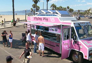 The Flying Pig food truck