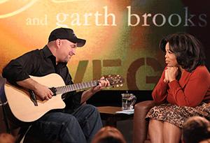 Garth Brooks and Oprah