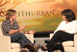 Keith Urban and Oprah