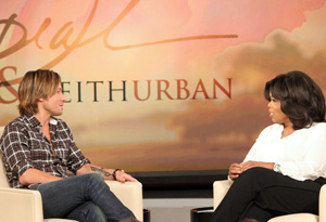 Keith Urban and Oprah