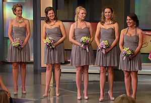Carson Kressley's bridesmaid fashion tips