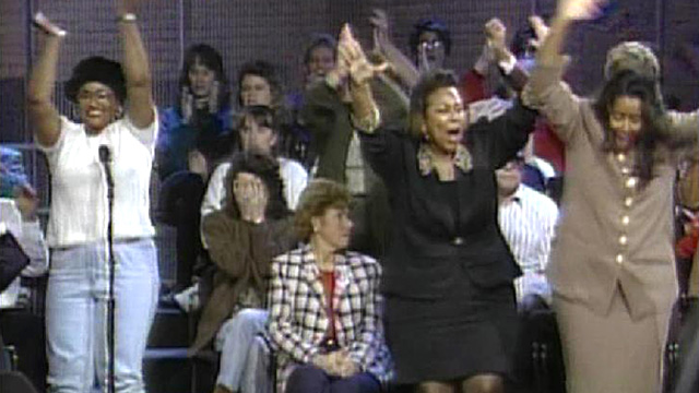 Audience Members React to the OJ Simpson Verdict - Video