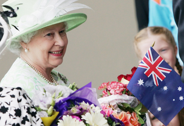 Queen Elizabeth II visits Australia in 2006
