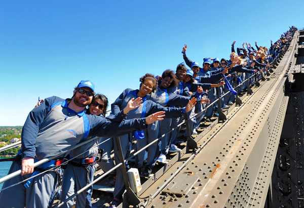 Ultimate Viewers at the Sydney Harbour Bridge