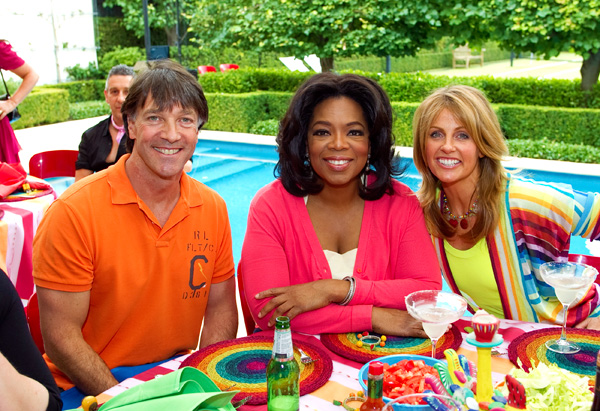 Oprah and two viewers