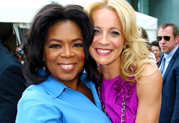 Oprah and Network TEN Correspondent Carrie Bickmore